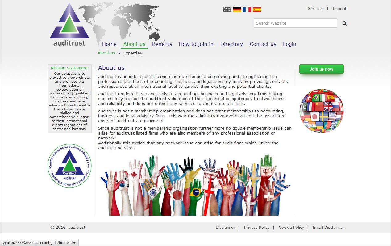 Responsive Website mit TYPO3 - Auditrust