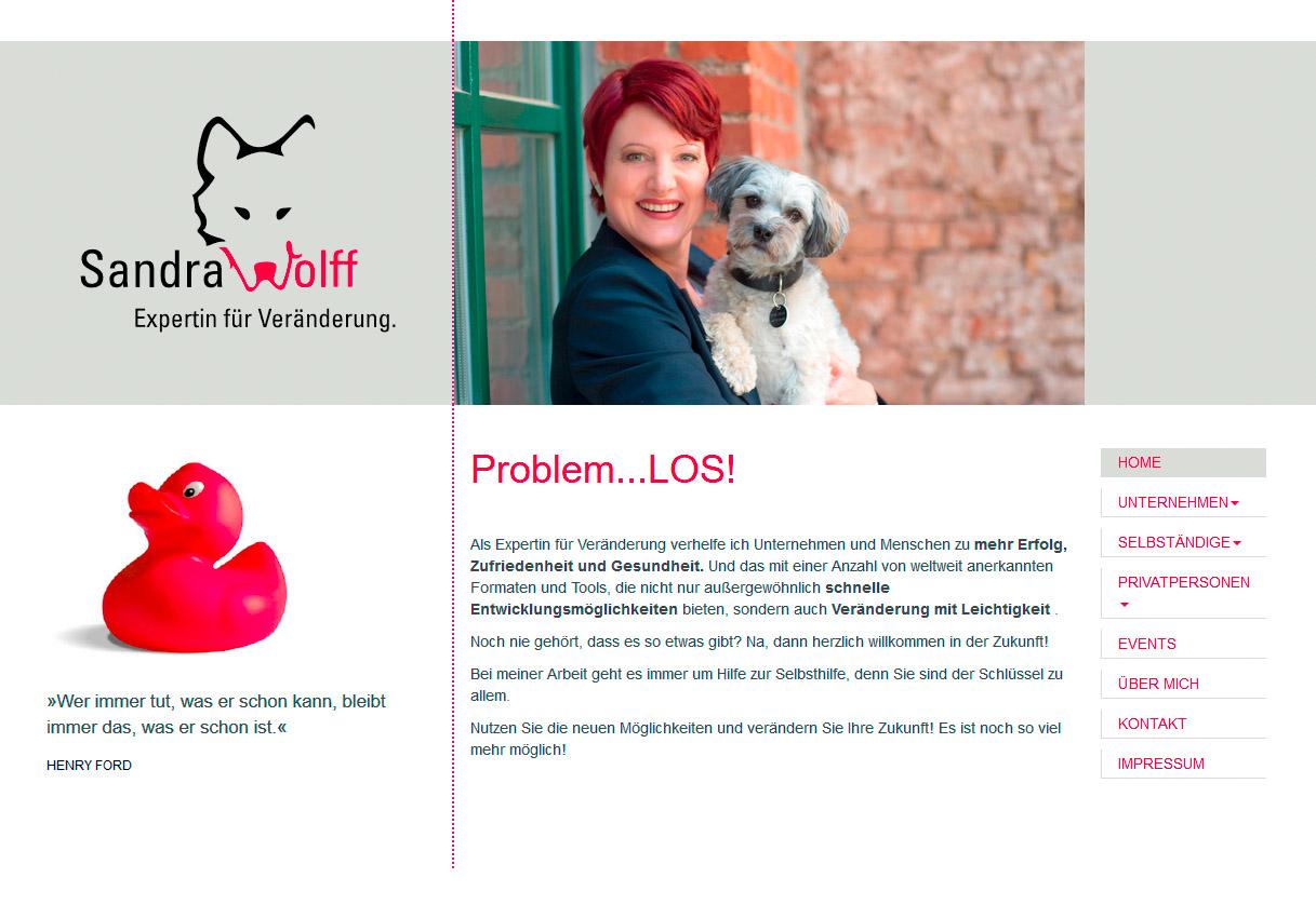 Responsiver Internetauftritt mit TYPO3 - Sandra Wolff