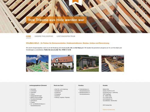 Holzbau Bolz